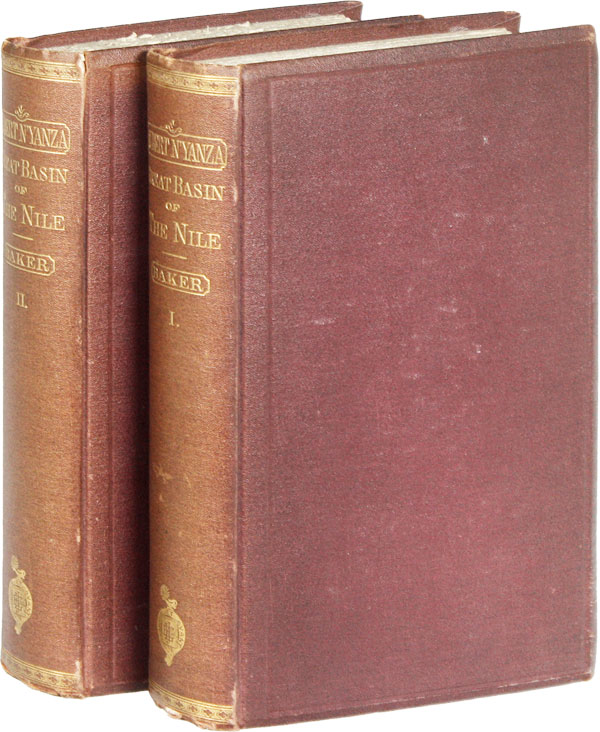 The Albert Nyanza, Great Basin of the Nile, and Explorations of the Nile Sources. With Maps,...