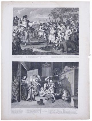 Hudibras. Plates I-XII (complete) [from] Hogarth Restored: the Whole Works of the Celebrated William Hogarth