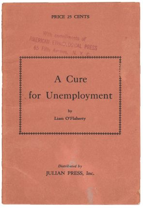 A Cure for Unemployment