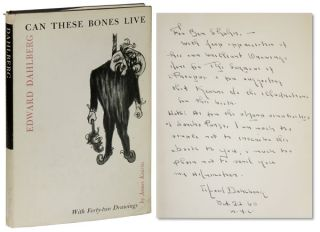 Can These Bones Live. With Forty-two Drawings by James Kearns and a Preface by Sir Herbert Read