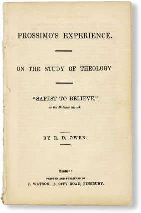 Prossimo's Experience. On the Study of Theology