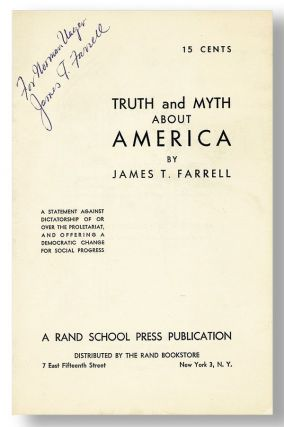 Truth and Myth About America [Inscribed]