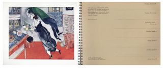 1969: An Appointment Calendar with studies and finished works in the Museum of Modern Art [Ben Shahn's Copy]