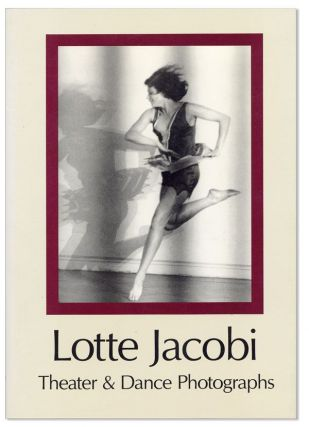 Lotte Jacobi: Theater & Dance Photographs [Inscribed & Signed to Nobel Laureate George Wald with Two Original Signed Photo Postcards of Albert Einstein Filled to Completion]