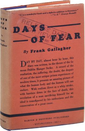 Days of Fear [Two Editions] [WITH] Autograph Note Signed