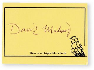 An Imaginary Life [Signed Bookplate Laid-in]