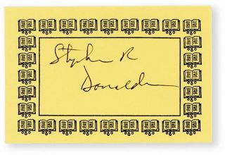The Power That Preserves [Signed Bookplate Laid-in]