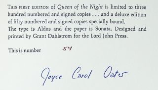 Queen of the Night [Limited Edition, Signed]