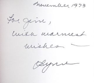 Houdini [Inscribed to James Baker Hall]