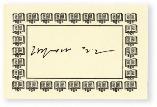 A Long and Happy Life [Signed Bookplate Laid-in]