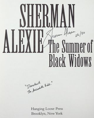 The Summer of Black Widows [Limited Edition, Signed]
