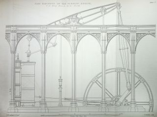 [The Steam Engine] The Principles and Practice and Explanation of the Machinery of Locomotive Engines In Operation on the Several Lines of Railway [ / Used in Steam Navigation; Examples of British and American Steam Vessels / of the Construction of the Steam Engine, Including Pumping, Stationary, and Marine Engines]