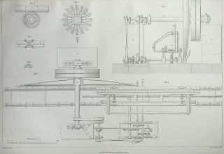 The Engineer and Machinist's Assistant: A Series of Plans, Sections, and Elevations, of Stationary, Marine, and Locomotive Engines, Water Wheels, Spinning Machines, Tools, etc., etc., Taken from Machines of Approved Construction