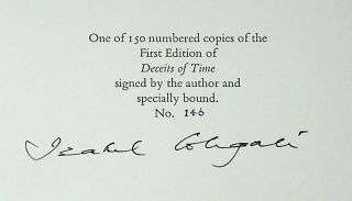 Deceits of Time [Limited Edition, Signed]